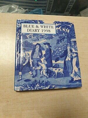 Past Times Special Edition Unused Blue & White Diary 1998 -Blue & White Ceramics • 1.49£