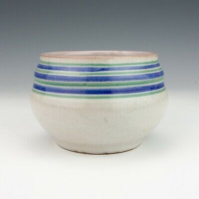 Poole Pottery - Hand Painted Banded Vase - Art Deco! • 9.99£