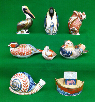 Royal Crown Derby - Selection Of Paperweights. • 49.99£