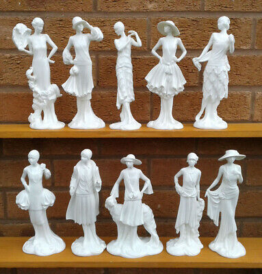 Royal Worcester - The 1920's Vogue Collection - Selection Of Figurines. • 24.99£