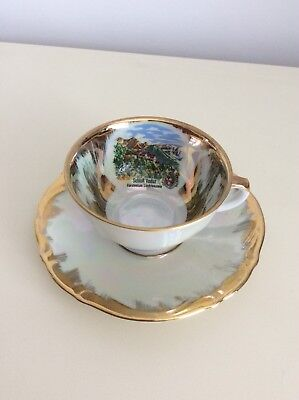 Schlor Vaduz Cup And Saucer • 1.99£