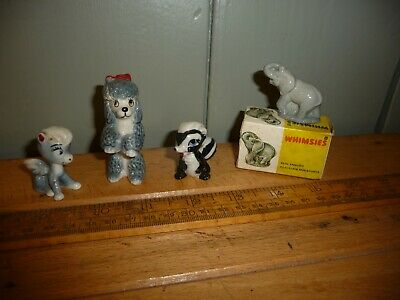 Vintage Wade Bambi Skunk ( Flower) /Fifi Poodle From Bengo /Pegasus / Elephant  • 9.99£