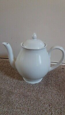 White Wade Teapot, Excellent Condition, No Chips • 7.99£
