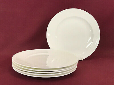 BELLEEK LIVING PURE 6 X PLATES 23cm - BRAND NEW/UNUSED • 3.99£