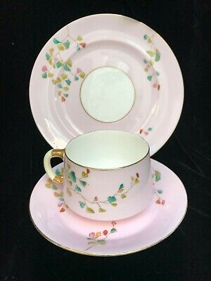 Ejd Bodley Aesthetic 19 Th Century Cup & Saucer & Side Plate • 18.99£