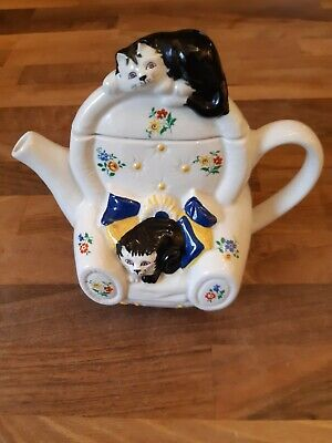 Wade Teapot...'Feline Collection' (Whimsical Teapots) Designed By Judith Wootton • 5£