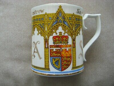 ROYALTY .ANDREW & SARAH TO COMMEMORATE 65th BIRTHDAY PRINCE PHILIP 1986 MUG • 3.99£