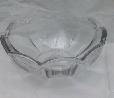Vintage Glass Fruit Bowl • 2£