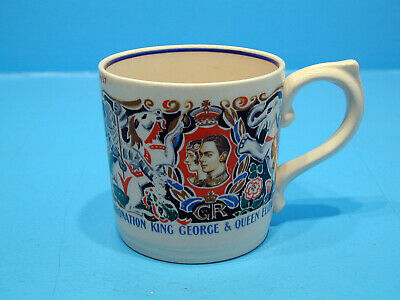 Laura Knight Mug - Coronation King George & Queen Elizabeth May 1937 • 18.99£