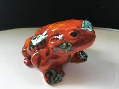Anita Harris Art Pottery Large Figure Of A Seated Toad Or Frog • 40£