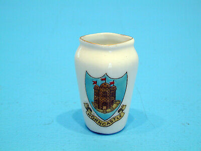 Arcadian Crested China Small Diamond Mouthed Vase - Horncastle • 9.99£