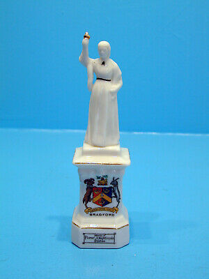 1920's Willow Crested China Statue Of Florence Nightingale - Bradford • 19.99£
