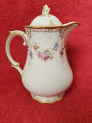 Royal Crown Derby Royal Antoinette Large Hot Water Pot 1st Quality • 400£