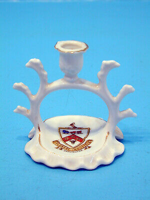 Gemma Crested China Ring Holder, Candle Stick - Darlington • 9.99£