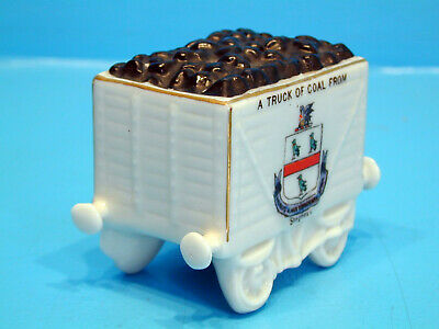 Willow Crested China Truck Of Coal - A Truck Of Coal From Skegness • 14.99£