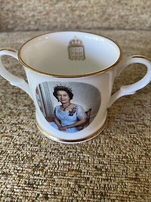 Commemorative Loving Cup Accession 40th Anniversary Queen Elizabeth 11 • 10£
