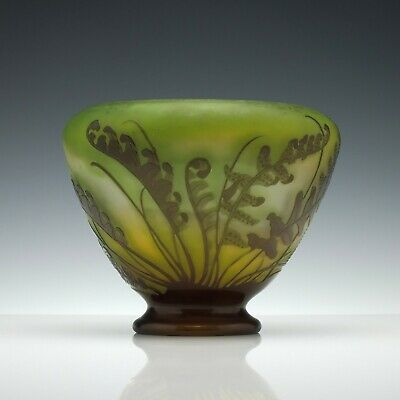 French Galle Cameo 'Fougeres' Vase C1900 • 2,415£