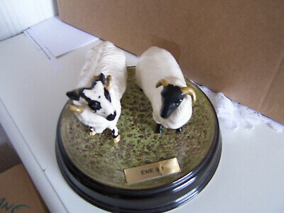 Beswick Animals,  Ewe And I   With Ceramic Plinth,produced As Special Edition • 28£