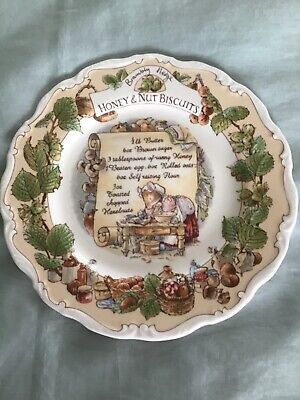 Brambly Hedge Honey Nut And Biscuits Plate • 40£