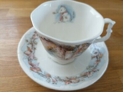 Royal Doulton Brambly Hedge WINTER Cup And Saucer (2nd Quality!)  • 6.20£