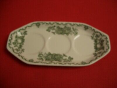 Mason's England ~ Fruit Basket ~ Green Tray / Under Plate For Cruet Set • 9.99£