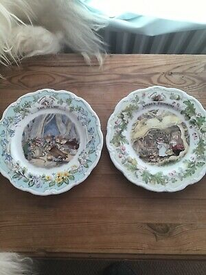 Brambly Hedge Plates With Free Item • 26£