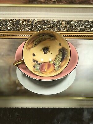 Anstey Orchard Gold Cup And Saucer • 39£