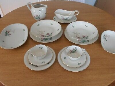 Vintage Heinrich Bavaria -   'moss Rose' China - Tableware - Discontinued Pieces • 19.99£