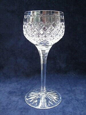 Stuart Crystal Hardwicke Pattern  Tall Wine Hock Glass  • 25£