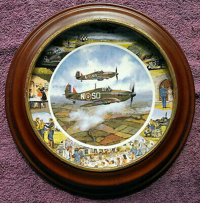 Ltd Edition Collector Plate - Royal Doulton - WWII Aircraft - FREE POSTAGE** • 22.99£