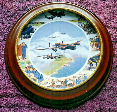 Ltd Edition Collector Plate - Royal Doulton - WWII Aircraft - FREE POSTAGE**(8) • 22.99£