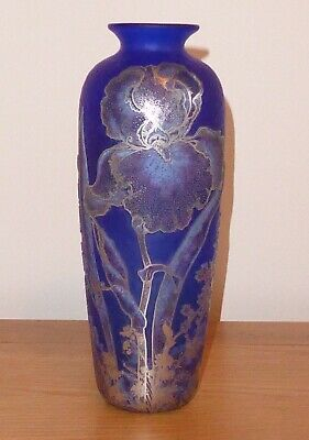 A Signed Trial Jonathan Harris Tall Cameo Silver Vase 2009 • 725£