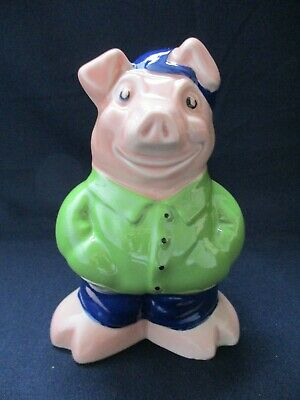 NAT WEST Pig Moneybox, COUSIN WESLEY, WADE, With Original Box, Rare Collectable • 230£