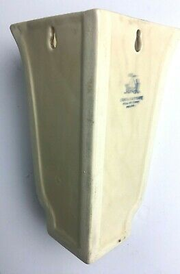 Art Deco Grays Pottery Corner Wall Pocket  - Very Collectable Item • 45£