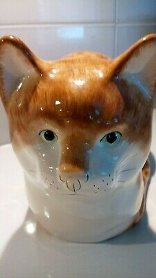 Babbacombe Pottery Cat, Ginger, • 7£