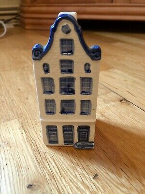 Delft Blue Hand Painted House Klm? • 5£