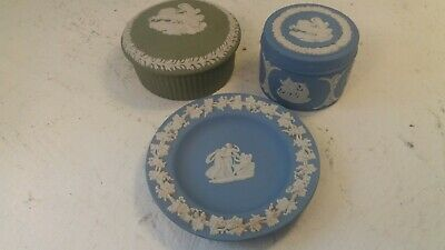 3 Pieces Of Wedgwood Jasper Ware • 1.20£
