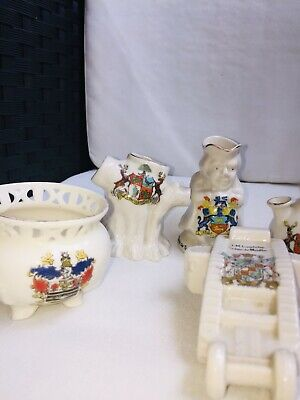Selection Of Crested China Grafton, Swan And Arcadian • 1.70£