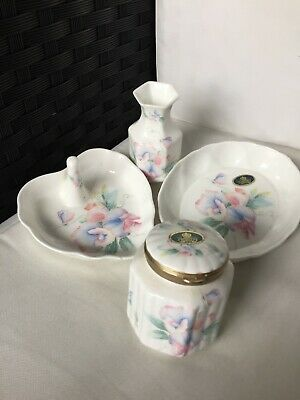 Aynsley Fine Bone China. Little Sweetheart. 4 Items Ex Condition • 1£