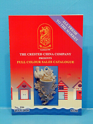 July 2020 The Crested China Company Current Full Colour Catalogue No. 186 • 2.50£