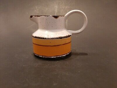 Midwinter Pottery Stonehenge Range Sun Pattern Sauce Boat With Stand - 1970's • 9.99£
