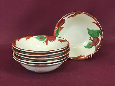 FRANCISCAN APPLE 6 X CERAL BOWLS 15cm / 6  - BRAND NEW & UNUSED • 5.99£