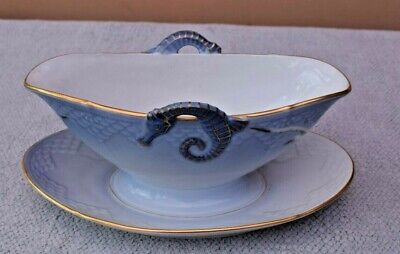 Bing & Grondahl Seagull Sauce Or Gravy Boat With Seahorse Handles  B&G • 35£