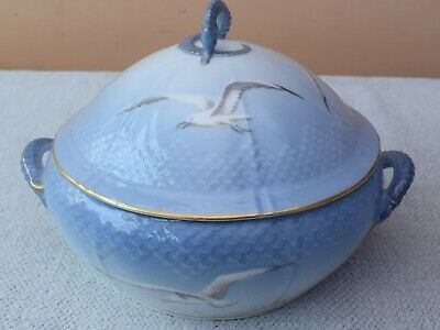 Large Bing & Grondahl Seagull Tureen & Lid With Seahorse Finial  B&G • 150£