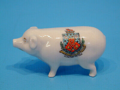 Shelley Crested China Pig,  You Can Push...  - Clacton-on-Sea • 14.99£