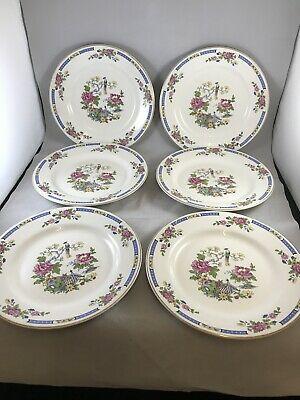 6x Lord Nelson Pottery Plates • 14.95£