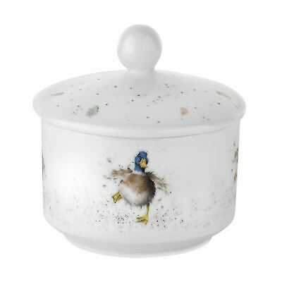 Wrendale By Royal Worcester Covered Sugar Bowl With Duck Design • 13.99£