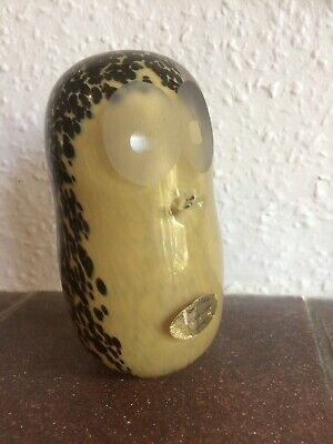 Wedgewood Glass Paperweight Owl • 12£