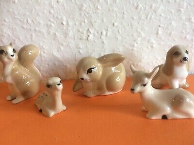 Vintage Szeiler Squirrel Bunny Puppy Deer • 18.50£