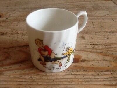 Nursery Rhyme China Cup - Tom Tom The Pipers Son • 1.55£